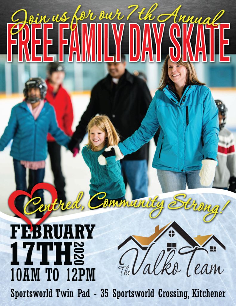 Free Family Day Skate - Third Party Event